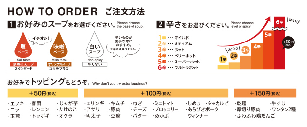 HOW TO ORDER ご注文方法